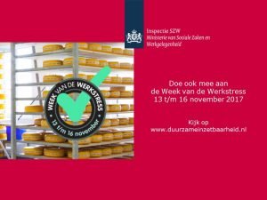 week van de werkstress 13 t/m 16 november 2017